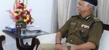 Police Commissioner S.N. Shrivastava.