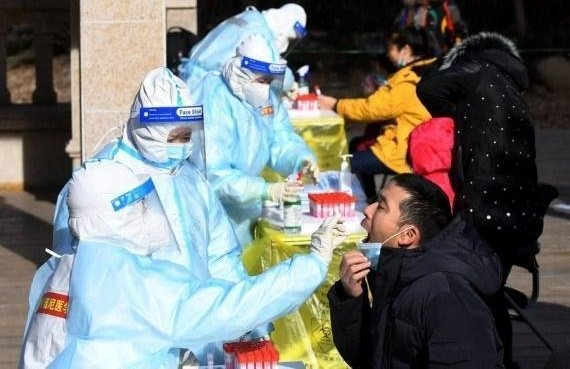 Chinese mainland reports 138 new Covid-19 cases