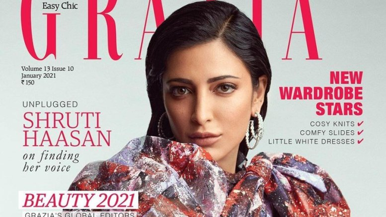 Shruti Haasan Turns Cover Girl For Grazia