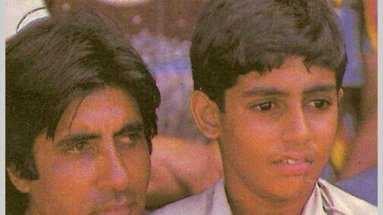 Big B recalls the time son Abhishek signed his first autograph