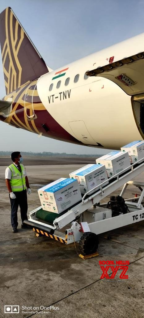 Hyderabad: First consignment of Bharat Biotech Covaxin arrives. #Gallery