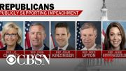 Group of Republicans pushes for Trump's removal from office (Video)