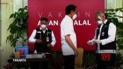 El presidente Joko Widodo recibe vacuna contra el COVID-19 (Video)