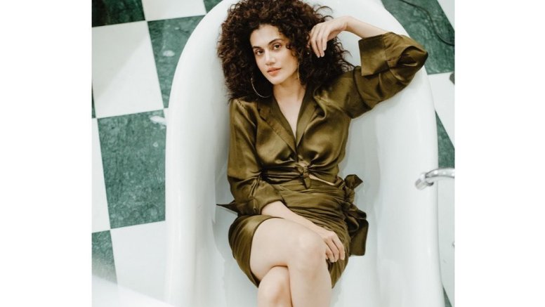Taapsee Pannu engages in 'cheap thrills'