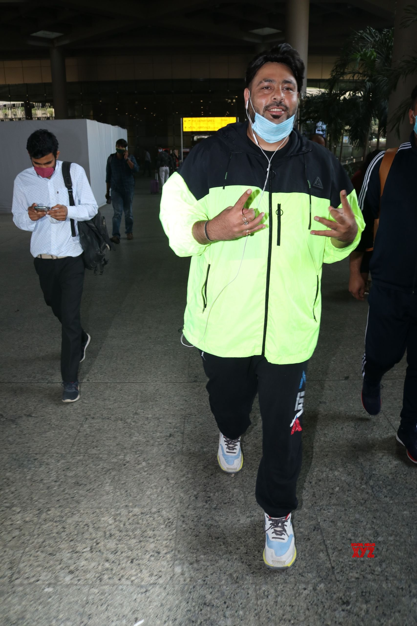 Badshah Spotted At Airport HD Gallery