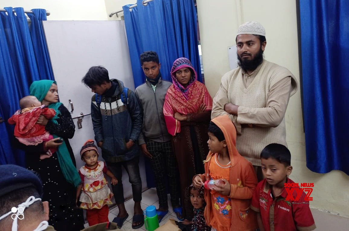10 more Delhi-bound Rohingyas from Myanmar arrested