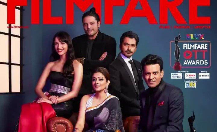 Epic Filmfare Cover Page, Featuring Nawazuddin Siddiqui, Manoj Bajpayee, Priyamani, Jaideep Ahlawat And Tripti Dimri