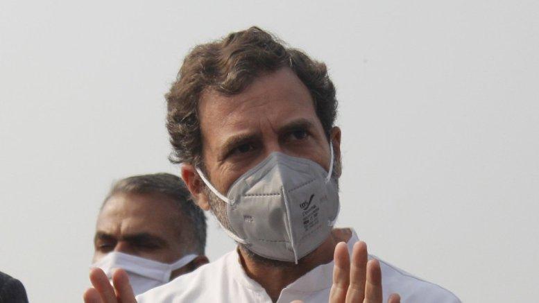 GDP crashing and BJP looting India: Rahul Gandhi