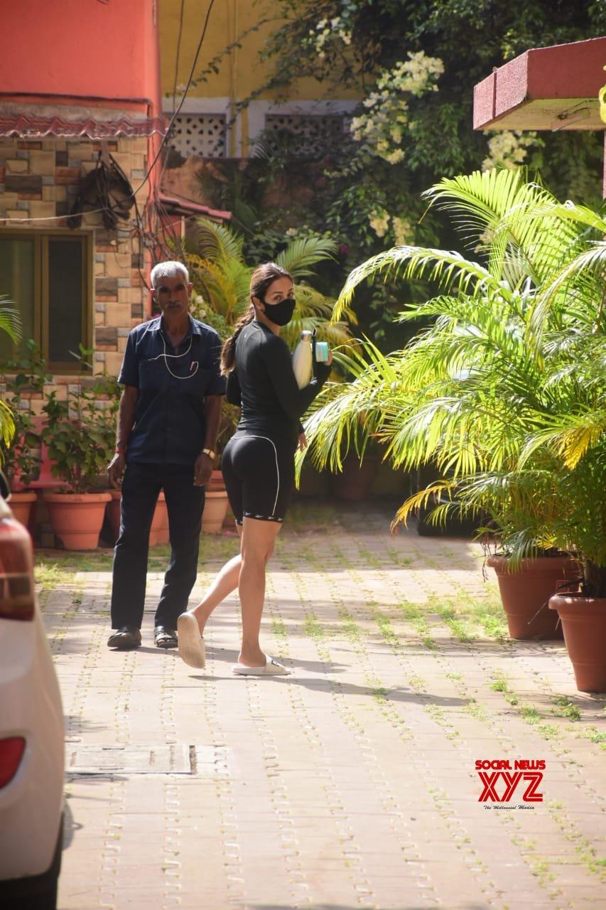 Actress Malaika Arora Spotted At Diva Yoga Bandra - Gallery