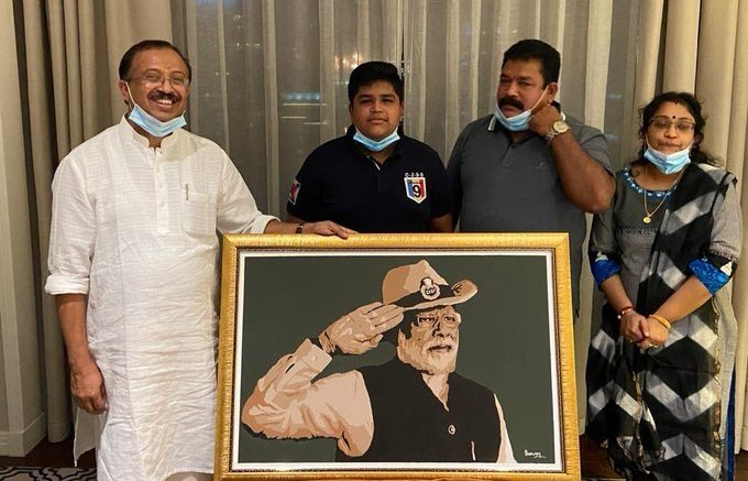 Dubai boy who made Modi's portrait receives letter of praise from PM