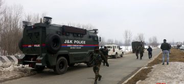 An Army jawan was killed and three other soldiers were injured in an IED blast that targeted a Road Opening Party (ROP) in south Kashmir's Kulgam district on Wednesday morning, officials said.Police said the IED blast took place at Subhanpora area of Kulgam.