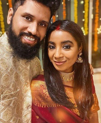 Shilpa Rao Ties The Knot With Ritesh Krishnan