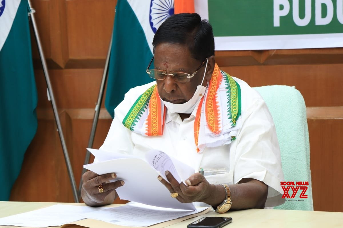 Tons of money, Central agencies used to topple Puducherry govt: Narayanasamy
