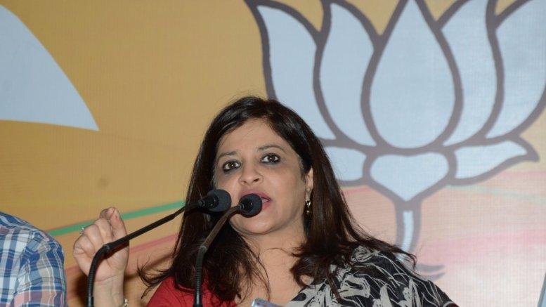 Shazia Ilmi and Prem Shukla made BJP's national spokesperson