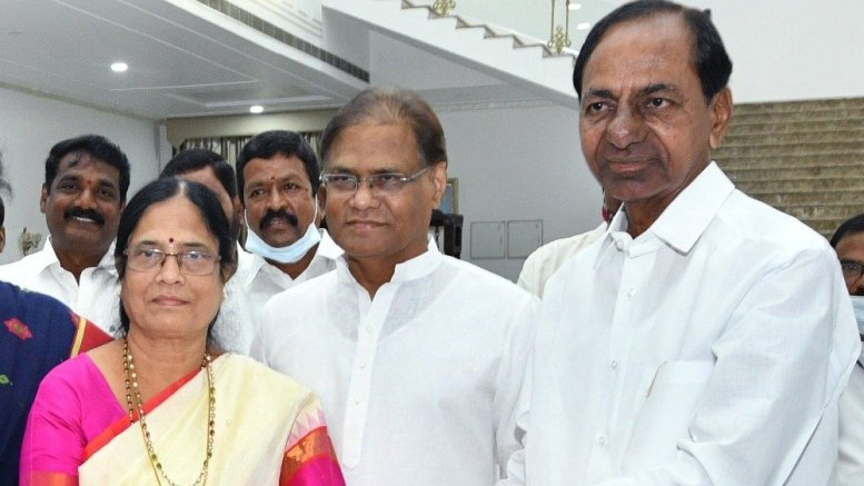 PV's daughter as candidate for MLC polls masterstroke by KCR