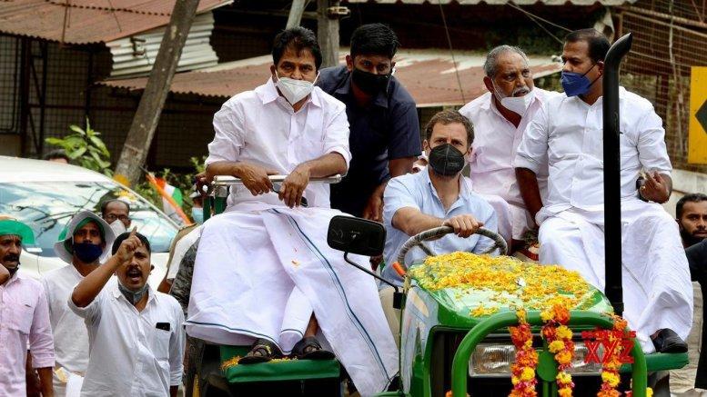 Rahul, Priyanka, Pilot lead farmers' agitation for Cong