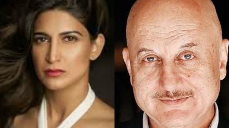 Aahana Kumra: Working with Anupam Kher an enriching experience