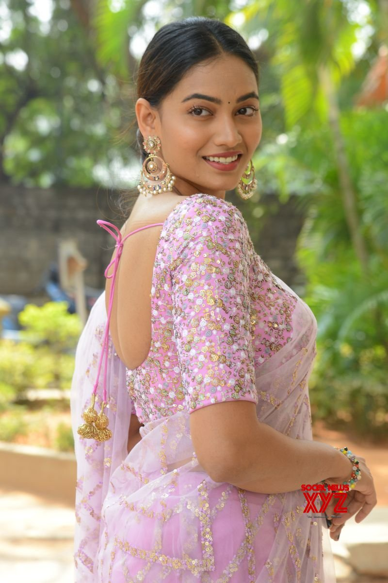 Actress Spandana Stills From Mad Movie Trailer Launch