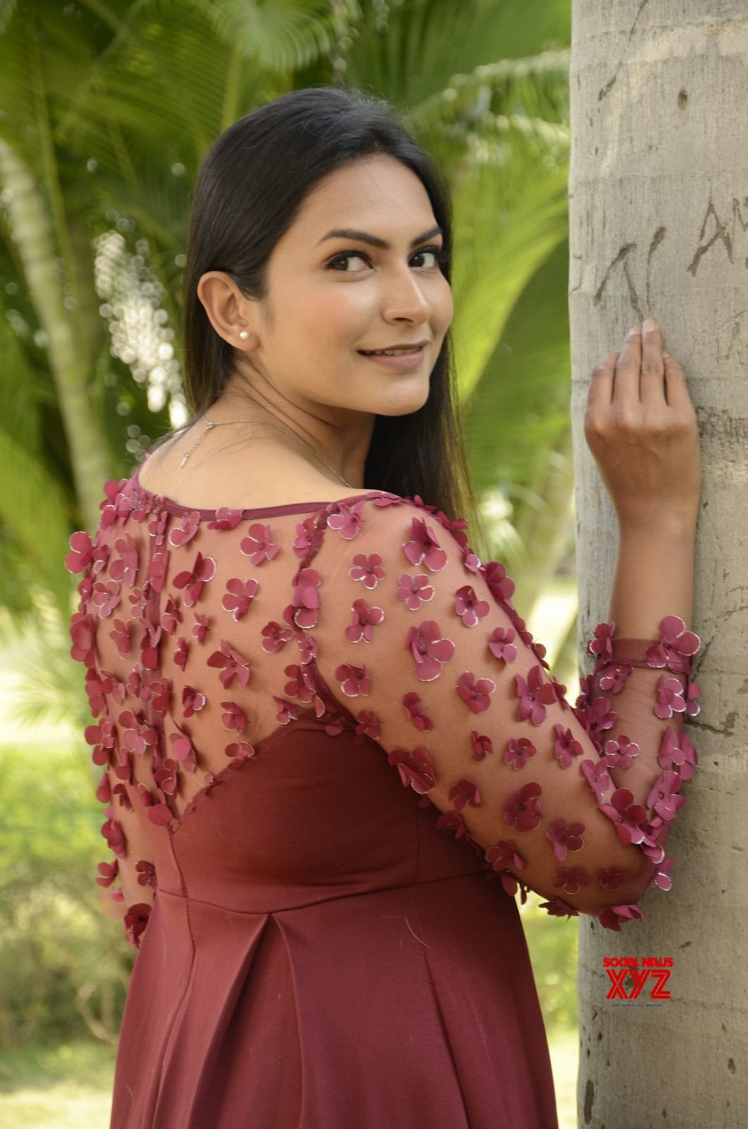 Actress Swetha Varma Stills From Mad Movie Trailer Launch