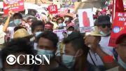 WorldView: Diplomatic pressure on Myanmar; Protests in Barcelona (Video)
