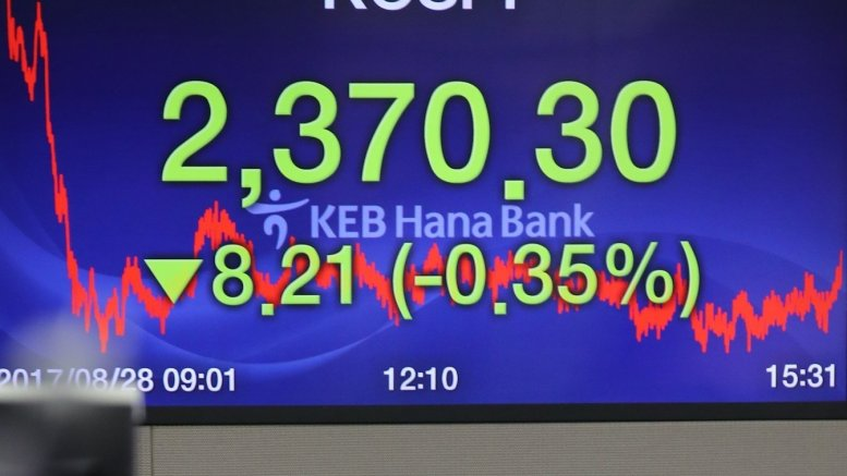 Seoul stocks slump for 2nd day on US inflation concerns