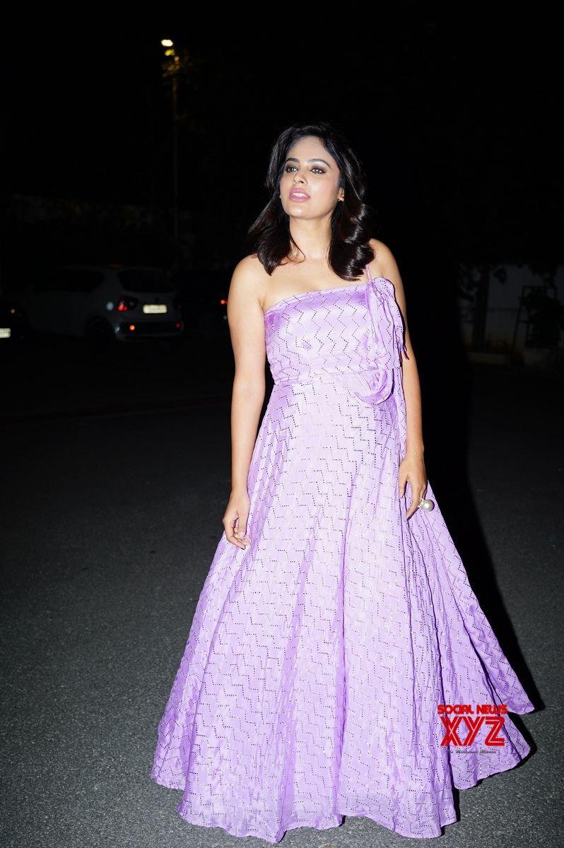 Actress Nandita Swetha Stills From Akshara Movie Pre Release Event