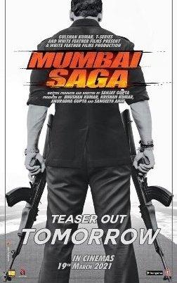 Mumbai Saga's First Look Out, Teaser Releases Tomorrow