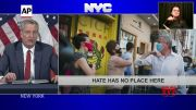 NYC mayor warns against Asian hate (Video)