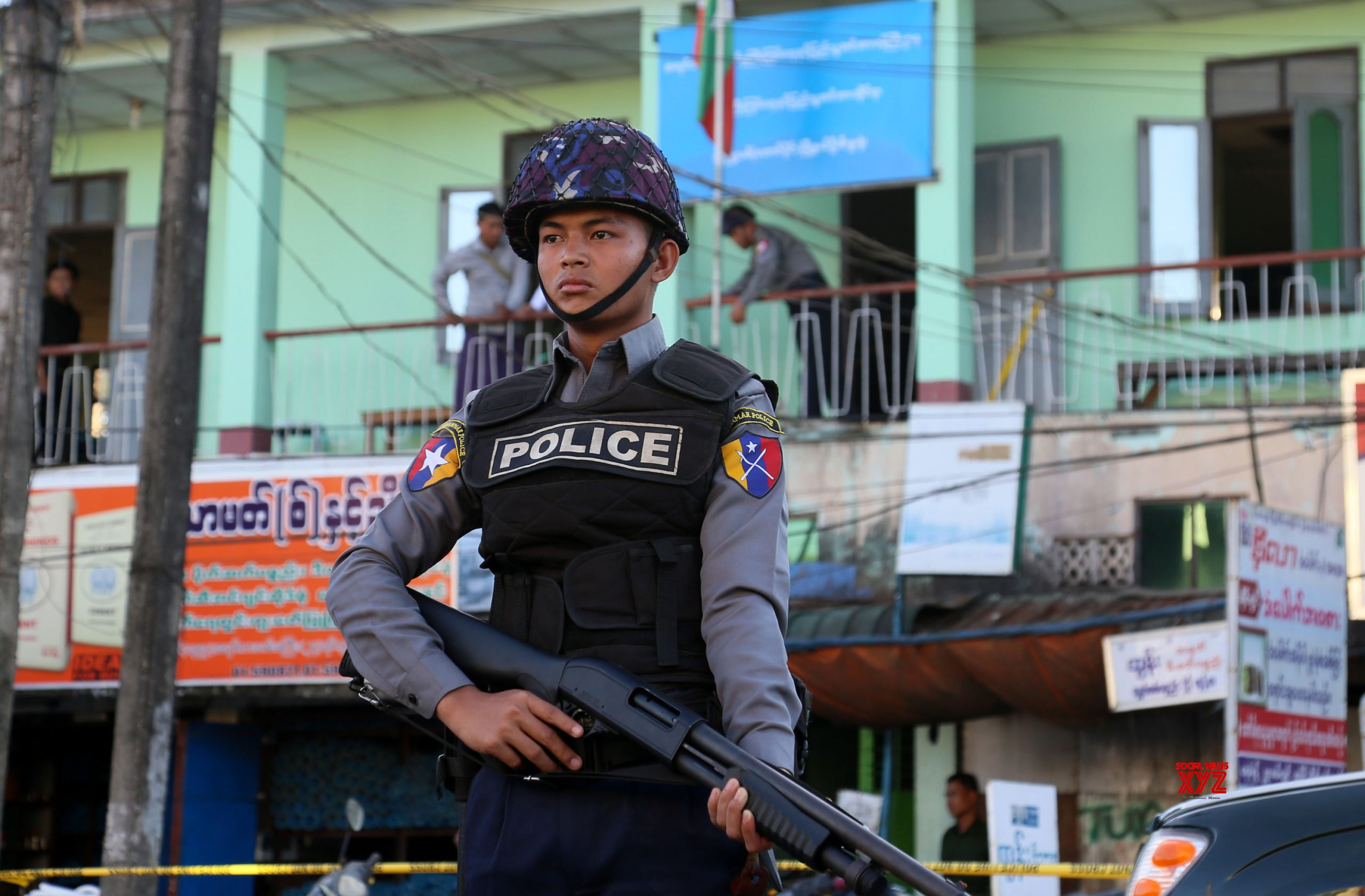 638 arrested in Myanmar for terror acts, illegal arms' possession