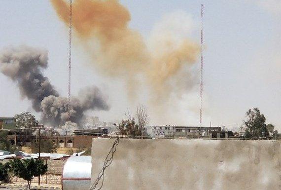 Houthi missile depot explodes in Yemen capital