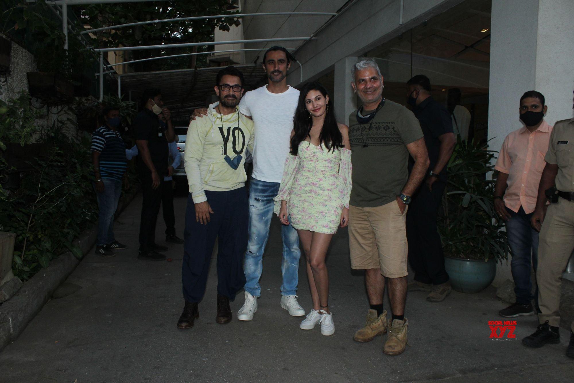 Koi Jaane Na Screening At Sunny Sound In Juhu - Gallery - Social News XYZ
