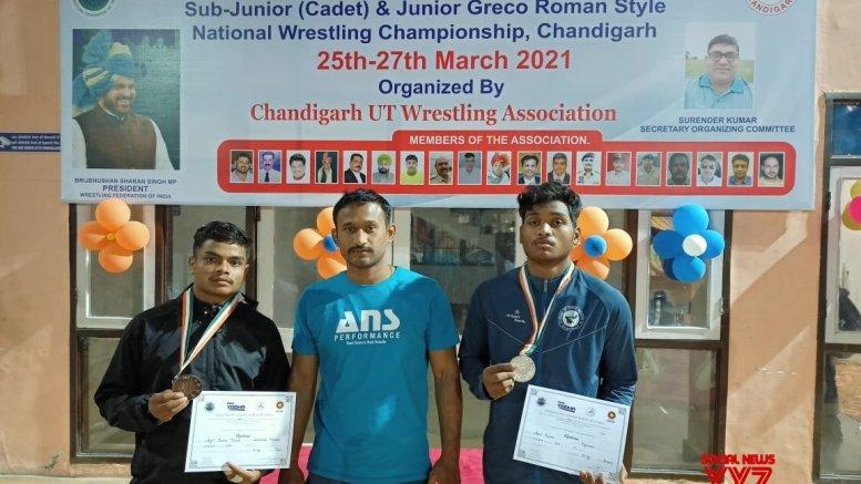 Haryana win sub-junior cadet freestyle wrestling title