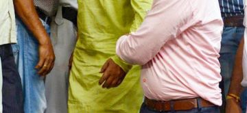 National Investigation Agency (NIA) has arrested TMC leader Chhatradhar Mahato in connection with 2009 murder case of CPI(M) leader Prabir Mahato being produce at Local Court in Kolkata on March 28, 2021. Pix by Kuntal Chakrabarty.