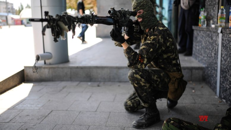 US 'increasingly concerned' by Russian military build-up on Ukraine border