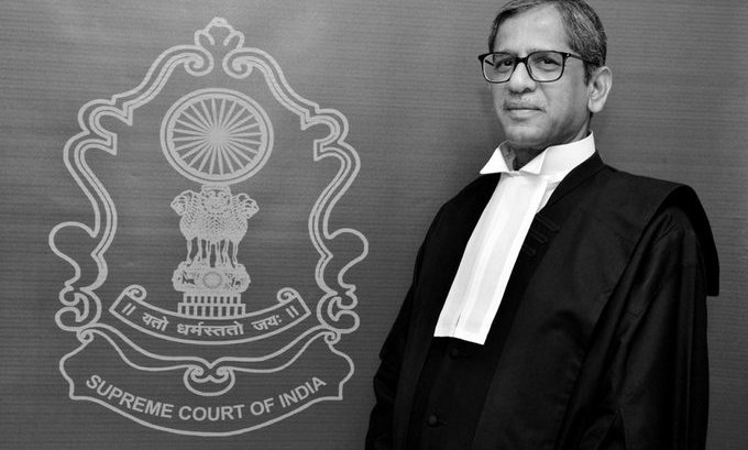 Justice Ramana appointed next CJI, to hold post for 16 months