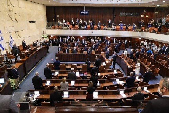 Israeli parliament inaugurated following inconclusive elections #Gallery