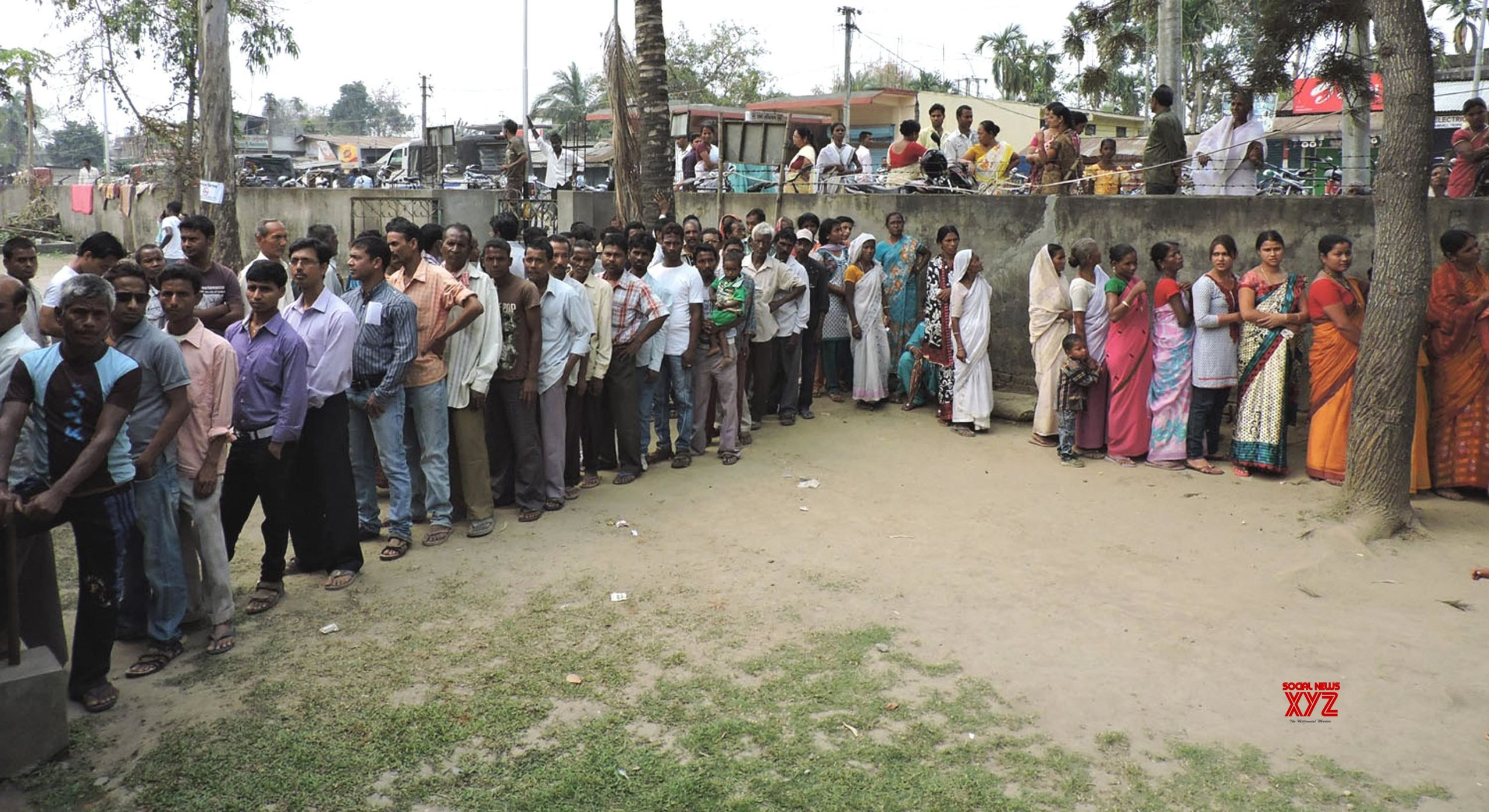 Assam records over 82% turnout across three-phase poll