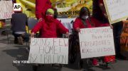 Hunger strikers praise NY budget and break fast (Video)