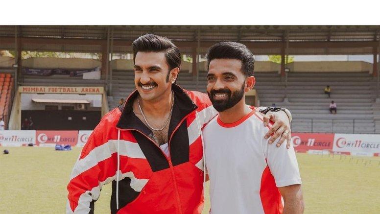 Ranveer Singh wishes 'champ' Ajinkya Rahane for IPL 2021