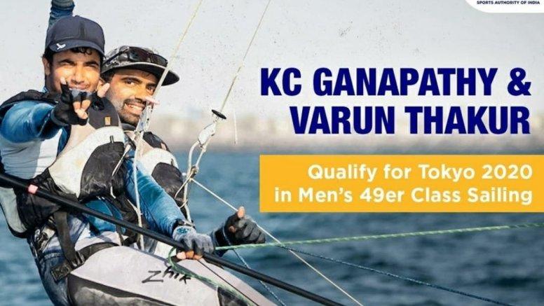 Ganapathy, Thakkar qualify for Olympics in sailing