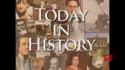 Today in History for April 9th (Video)