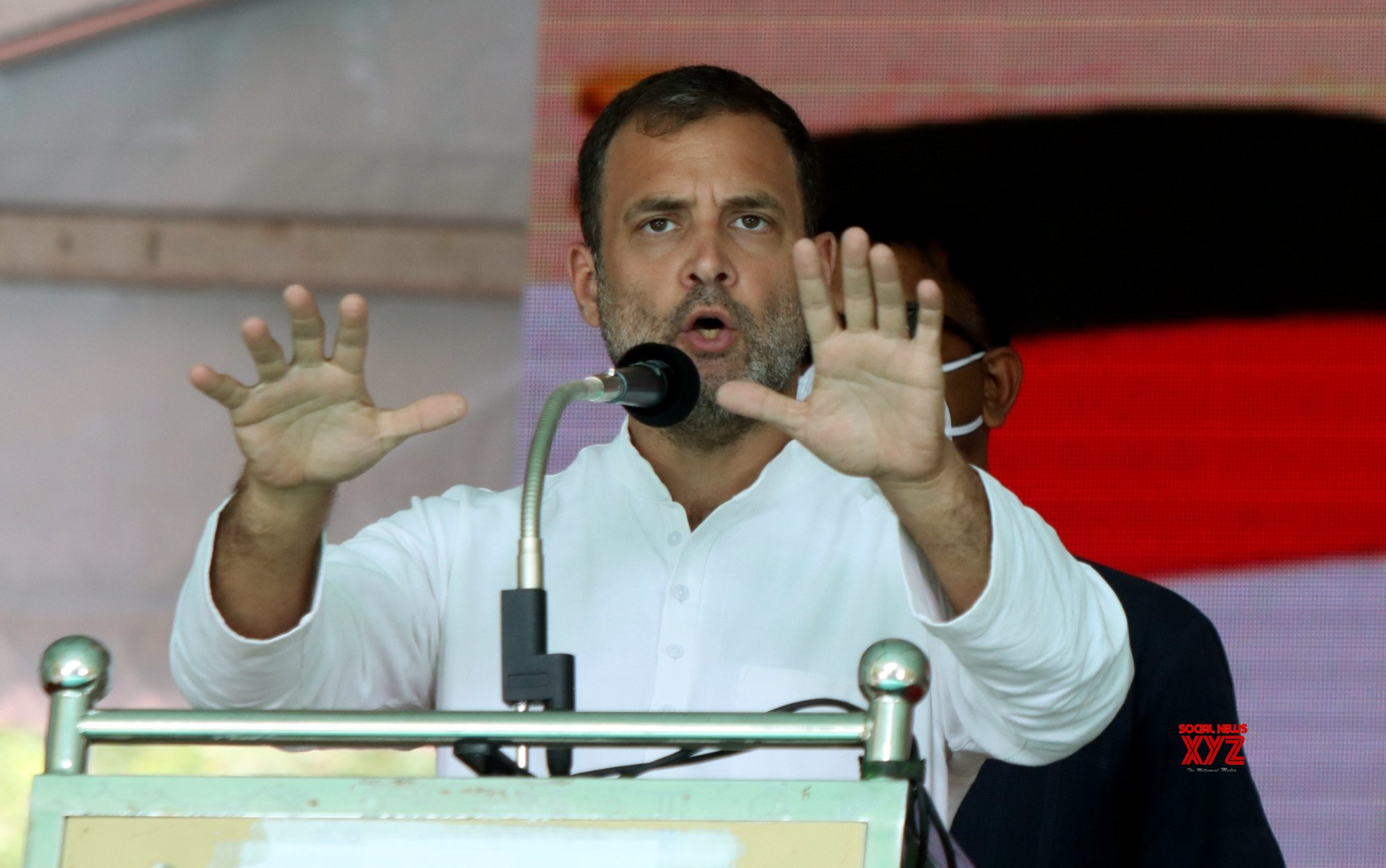 A crime has been committed against India: Rahul