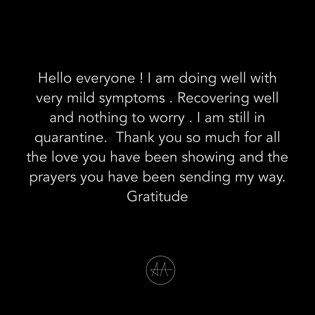 Allu Arjun provides the latest update on his recovery from covid