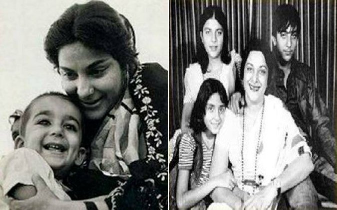 Sanjay Dutt And Priya Dutt Remembers Mother Nargis On Her Death Anniversary