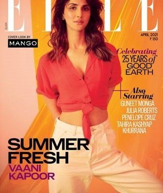 ​Vaani Kapoor Graces The Cover Page Of Elle Magazine