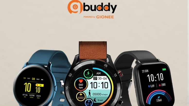 Gionee launches 3 new smartwatches in India