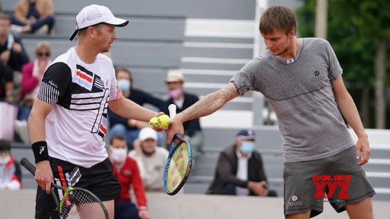 French Open: Herbert-Mahut face Bublik-Golubev in men's doubles final
