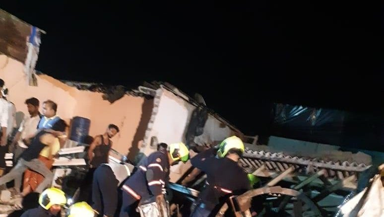 Mumbai house collapse: PM, CM announce compensation to kin of deceased