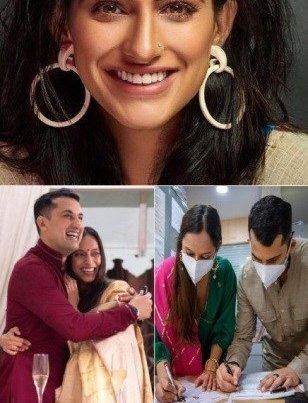 Kubbra Sait Wishes Danish Sait And Anya Rangaswamy On Their Wedding!