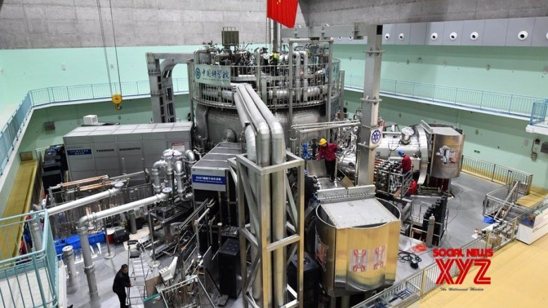 China sustains artificial sun at record 120 mn C for over 100 sec